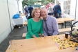 Heike und Mario Graalmann beim 70-jährigen Firmenjubiläum