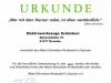 Urkunde Spende ToolsConvention 2017